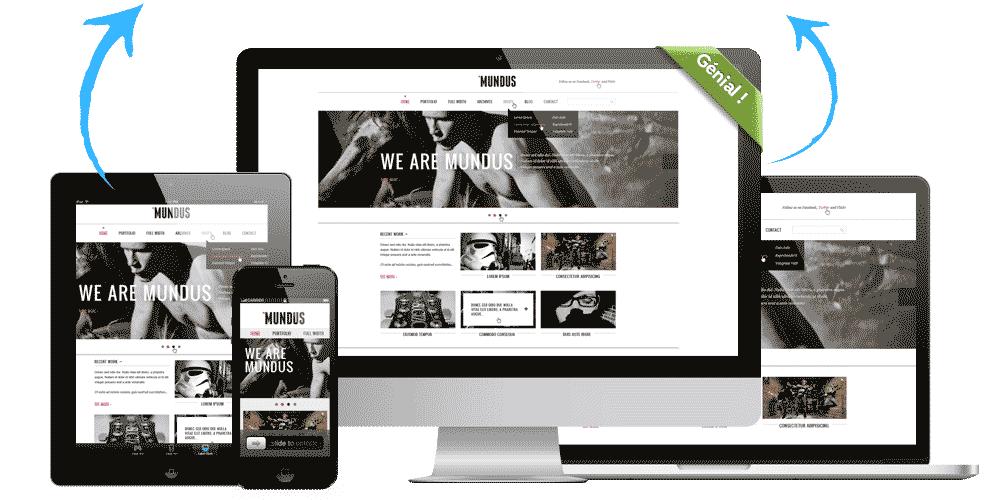 Création de site internet clé en main