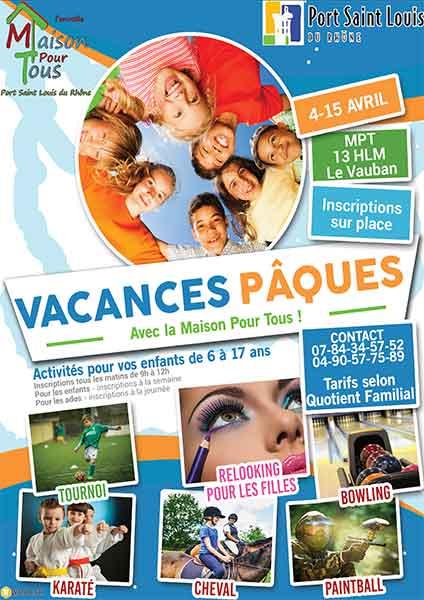 Affiche-vacances-Paques-2016-Maison-Pour-Tous-Port-saint-louis